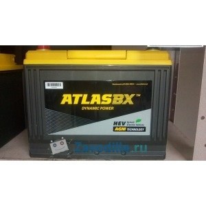 ATLAS BX AGM 75 (65D26) А/ч